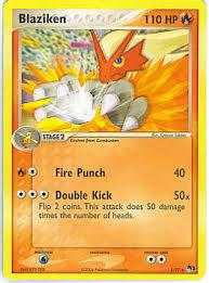 blaziken pokemon cards