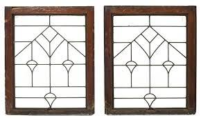 arts and crafts windows