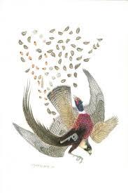 paintings of pheasants