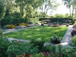 rectangular gardens