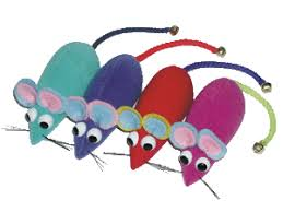 mice cat toys
