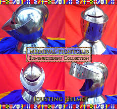 jousting helmets