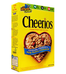 ingredients for cheerios