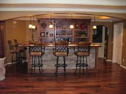 finished basement bar pictures