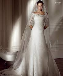 sleeved bridal gowns
