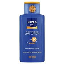 nivea sun tan lotion