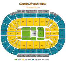 mandalay bay seating chart