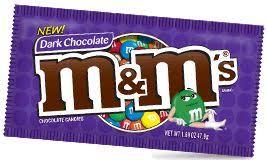 dark chocolate m ms