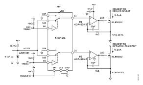 pulse oximeter circuit
