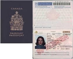 canada passport number