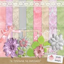 digital scrapbooking template