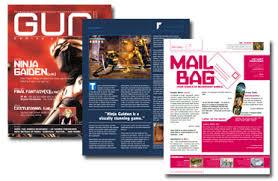 magazines layouts