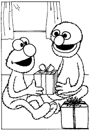 grover coloring pages