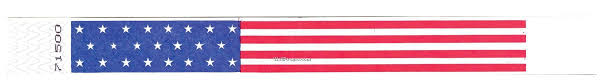 flag wristband