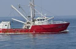 commercial fishing ship