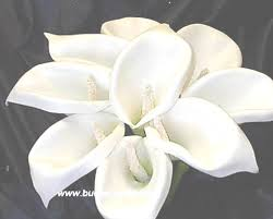 lilies wedding bouquets