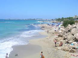 beach in paphos