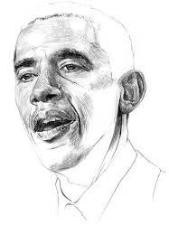 drawing of obama