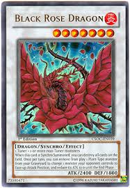 black rose dragon card