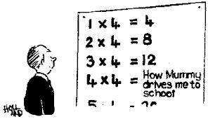 maths cartoon