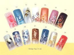 creative nail design acrylic