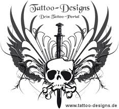 latin tattoo design