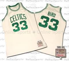 larry bird celtics jersey