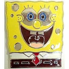 spongebob belt buckle