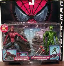 spiderman fights green goblin