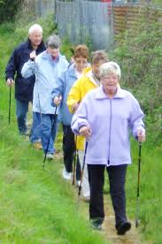older people walk exercise