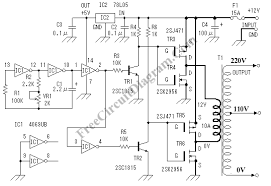 dc to ac inverter circuit diagram
