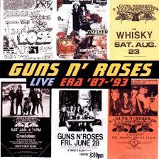 gun n roses live era