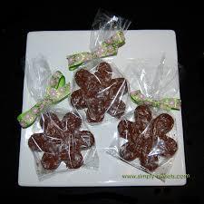 flower shaped chocolates