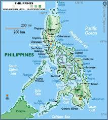 map of philippine