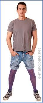 men pantyhose shorts