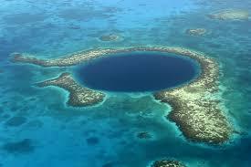 blue hole map