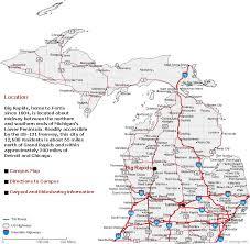 map of michigan cities