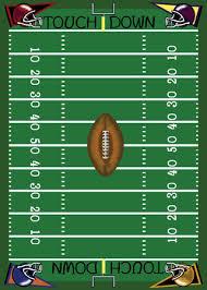 football field drawing