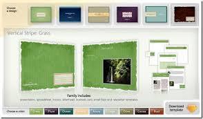 designer templates
