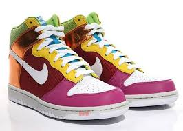 nike colorful dunks