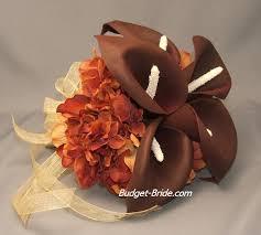 brown wedding bouquets