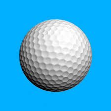 large golf ball