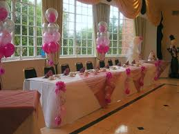 pink and silver balloons
