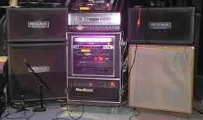 guitar amp rack
