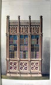 gothic bookcases