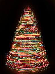 lights christmas tree