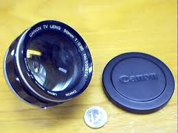 canon tv lens