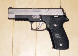 40 handgun