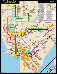 nyc subways maps