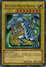 blue eyes dragon
